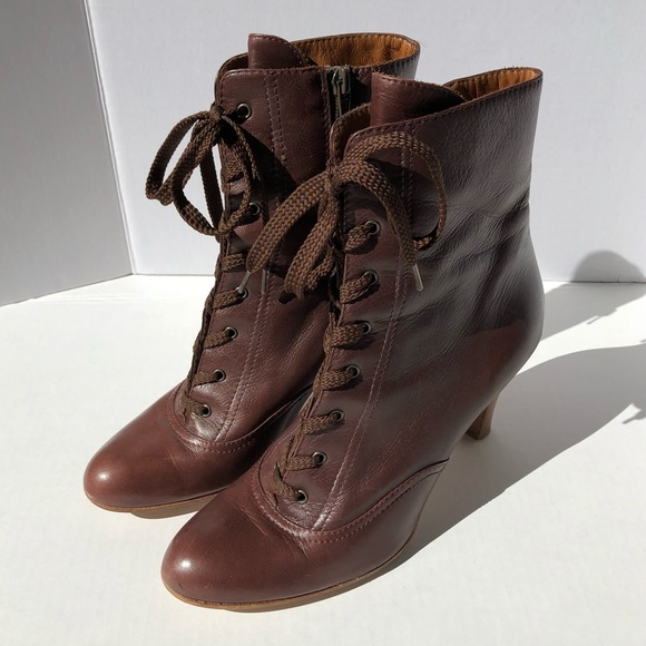 Marc Jacobs Lace Up Victorian Style